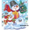 Новогодний праздник «Дунька-колдунька и Снеговик»