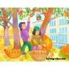Сценарий осеннего праздника в старшей группе «Осень на дворе»