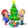 """Сценарий новогоднего утренника """"Приключения у новогодней елки"""""""
