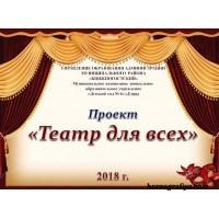 """Презентация """"Театр для всех"""""""
