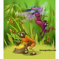 Сценарий осеннего утренника «Стрекоза и муравей»