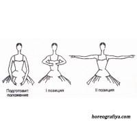 """Презентация + тестирование """"Позиции рук в классическом танце"""""""