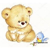 Музыкально-дидактическая игра «Медвежонок и птичка»