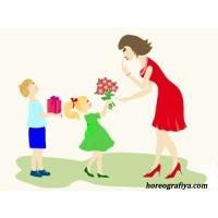 Весенний привет мамам
