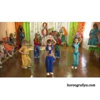 Восточные танцы в детском саду.