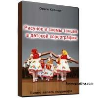 Рисунок и схемы танцев в детской хореографии.